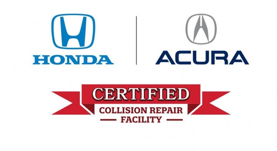honda certified body shop logo