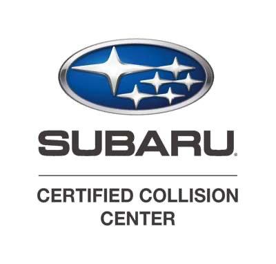 subaru certified body shop logo